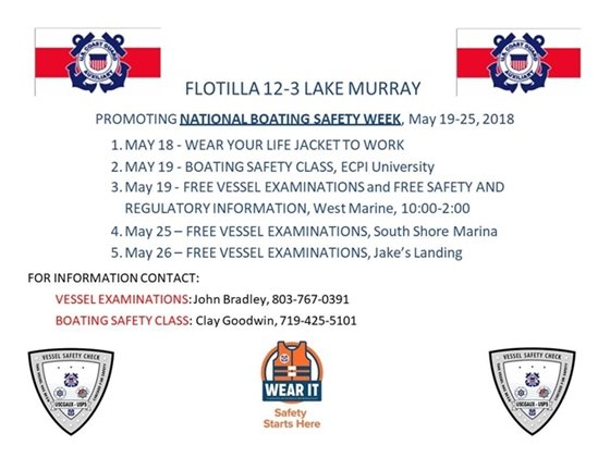 National Boating Safety Week