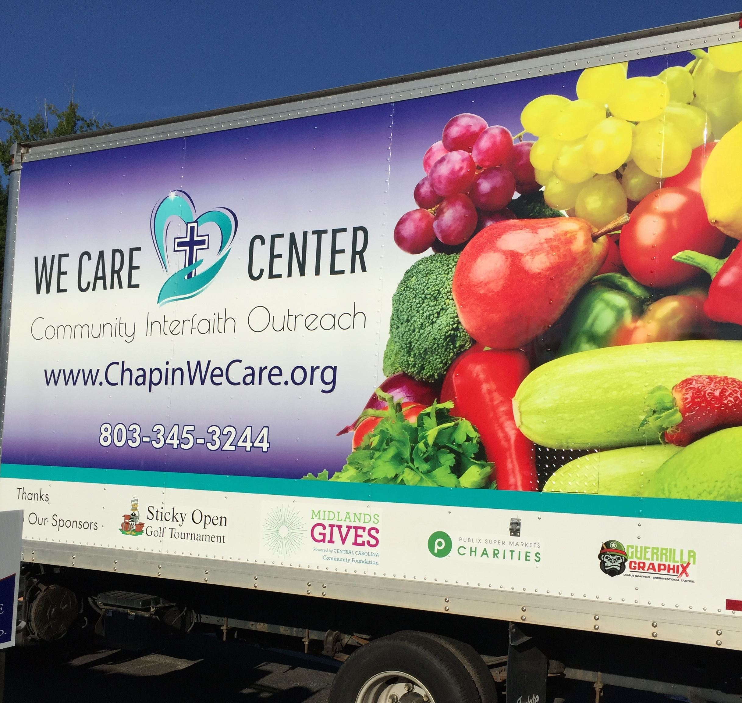 Chapin We Care's New Refrigerated Truck