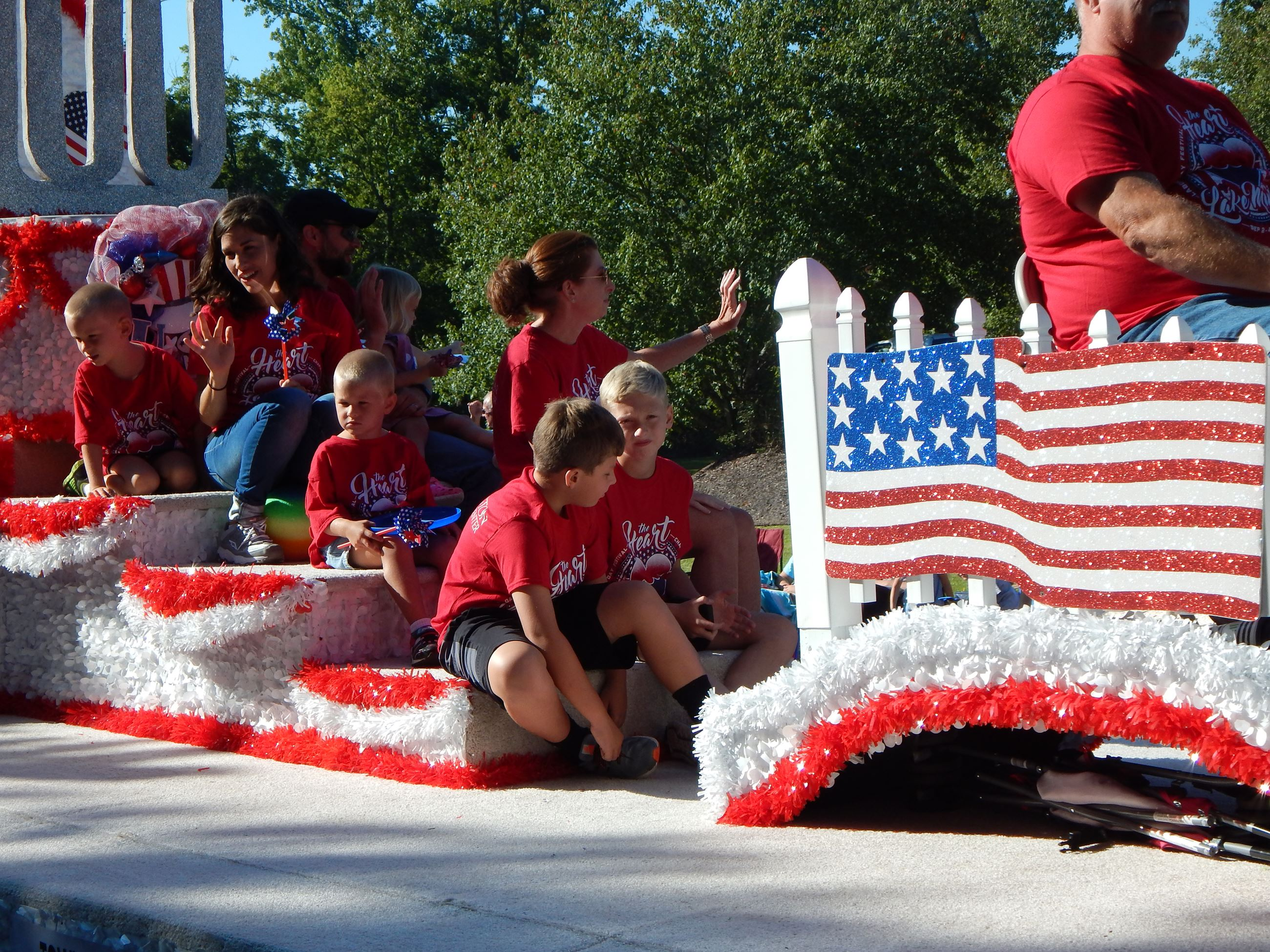 Town Hall float