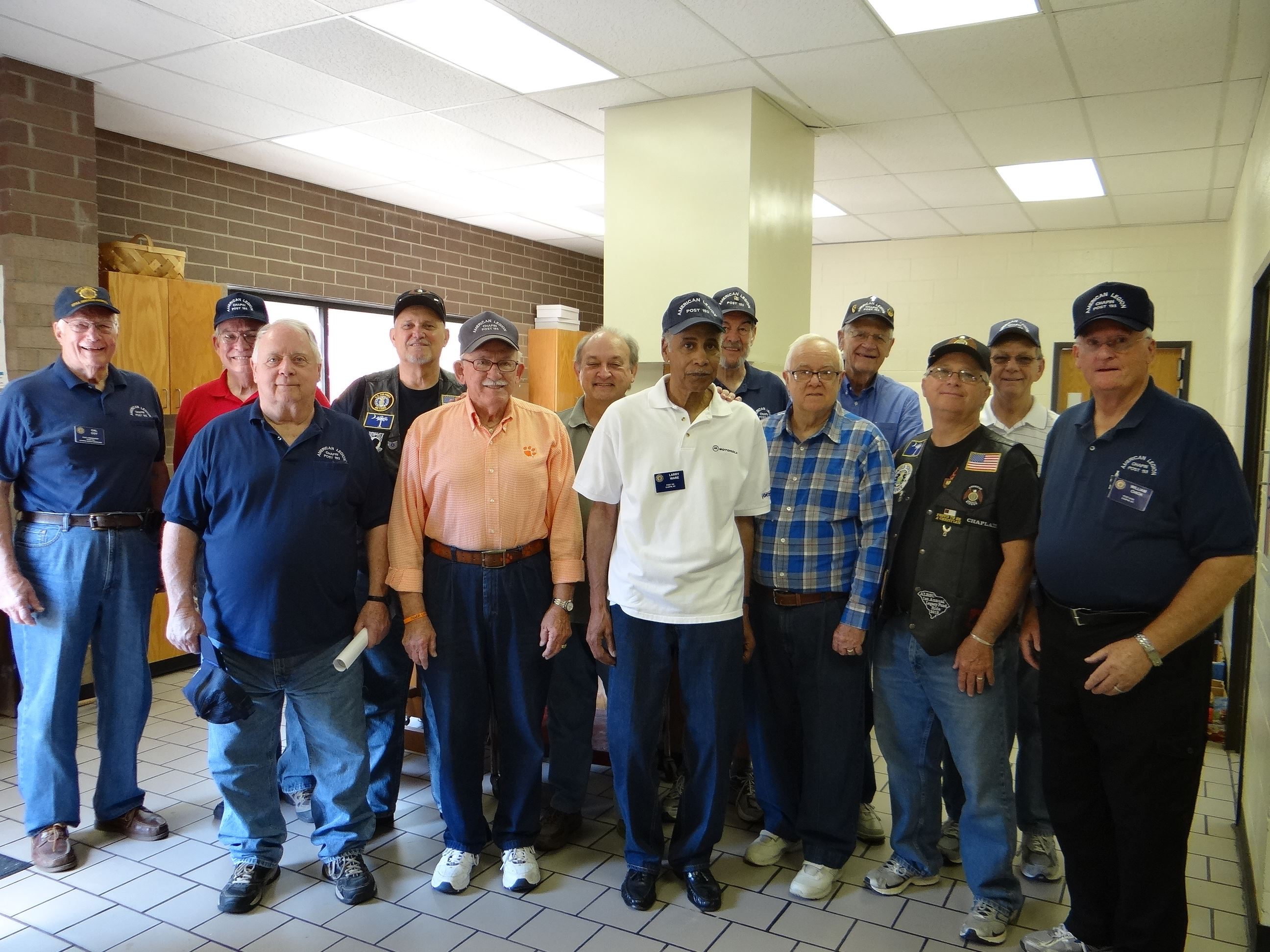 Group photo of post 193 members
